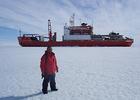 """""""Проект АТН  """"Наши. Ученые"""" Юрий Гигиняк - исследования в Антарктике"""""""